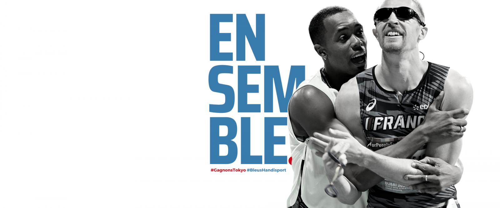 Campagne Bleus Handisport 2021, Gagnons Tokyo !